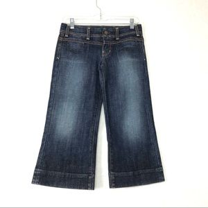 Citizens of Humanity Cropped Wide Leg Stretch Jean